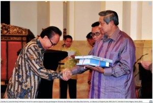 blue economy with presiden SBY