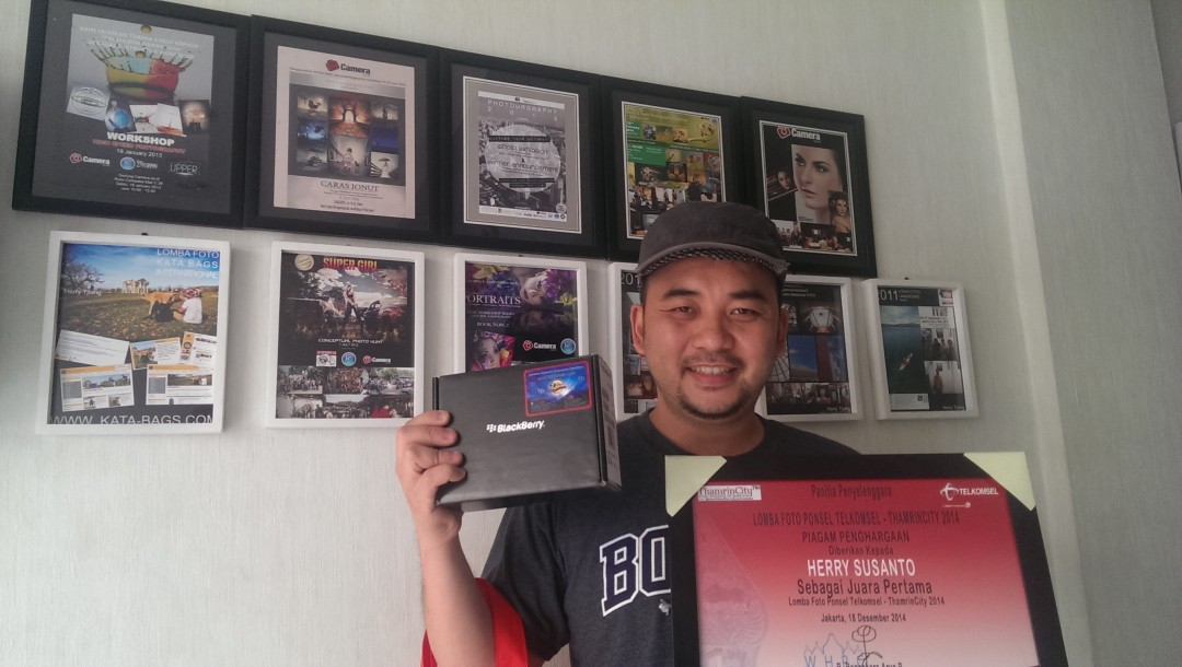 Juara 1 lomba photo Telkomsel 2014