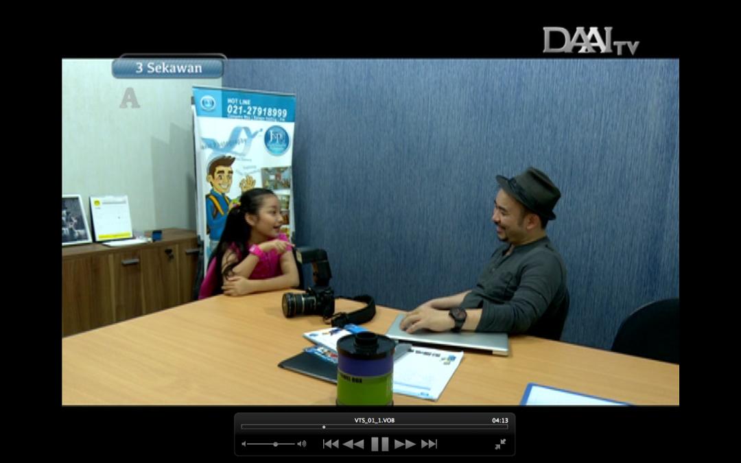 Jakarta school of photography at DAAI Tv