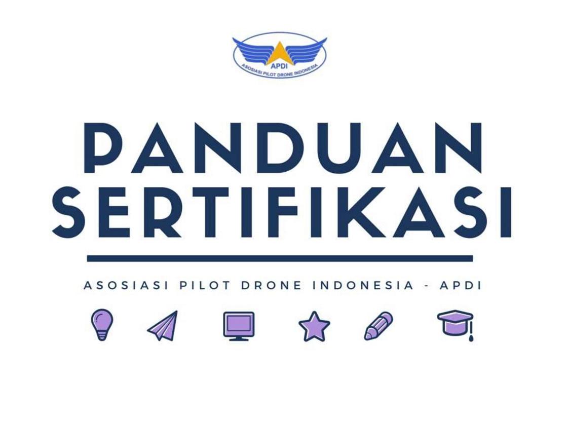 Panduan sertifikasi drone