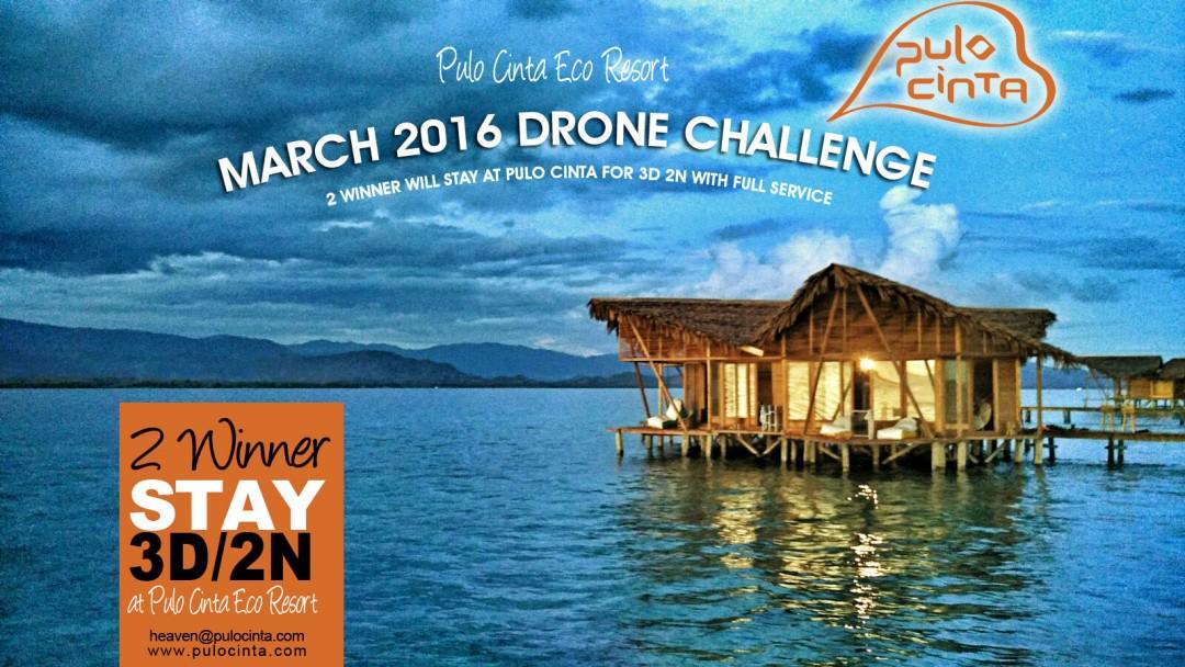 Pulo Cinta Eco resort – Drone competition