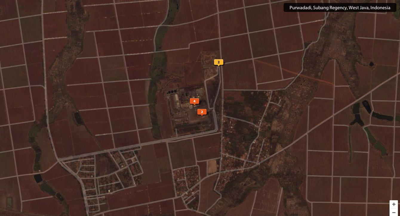Photo peta dan layout  lokasi ko
