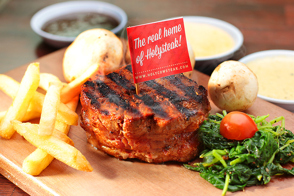 holycow steak fotografer