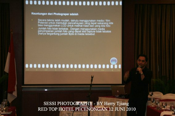 pembicara workshop photography