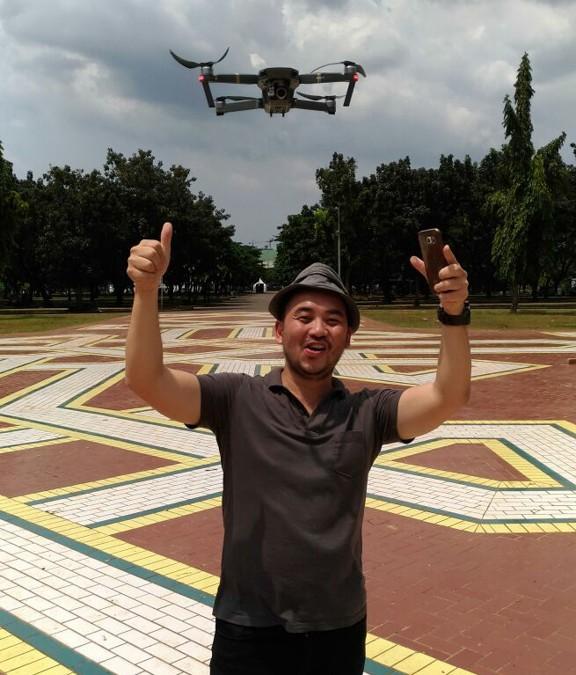 Mavic pro  – Un boxing –  Mavic pro Terbang pertama kali di langit Jakarta