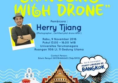 Workshop Drone di 4 kampus di Jakarta