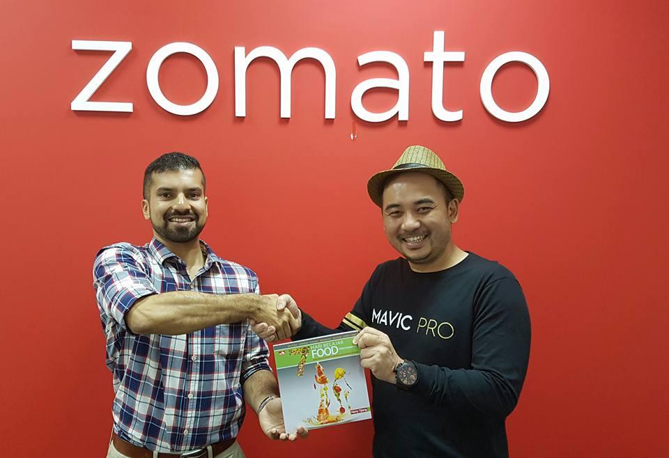 Zomato merupakan portal makanan yang tebesar dan semuanya ada di 7 hari belajar food photography