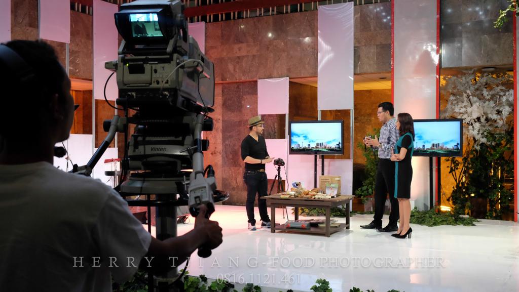 Food Photography (live at TVRI) – Fotografi makanan dengan perlengkapan sederhana
