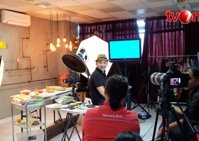 fotografer makanan at TV One