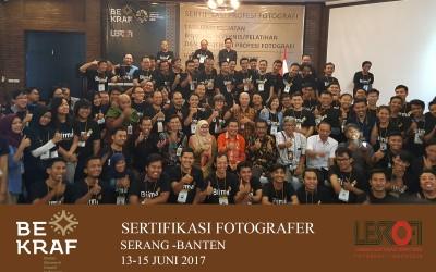 Sertifikasi fotografer 2017 – Serang Banten