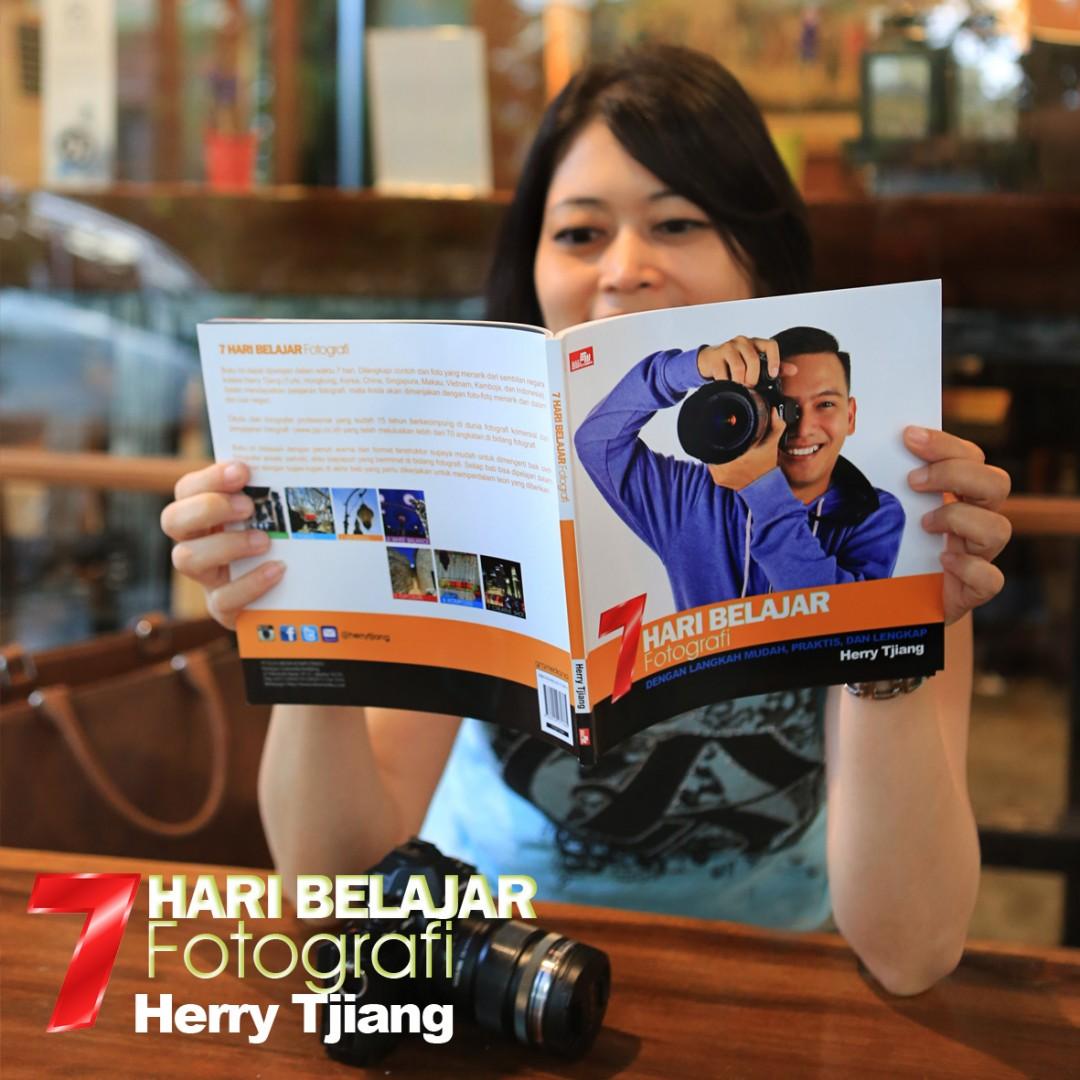 buku fotografi 7 hari belajar fotografi oleh Herry Tjiang