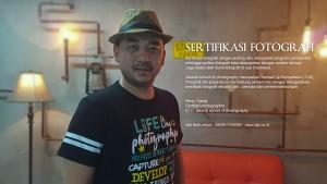 SERTIFIKASI FOTOGRAFER INDONESIA