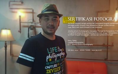 Sertifikasi fotografi di Jakarta