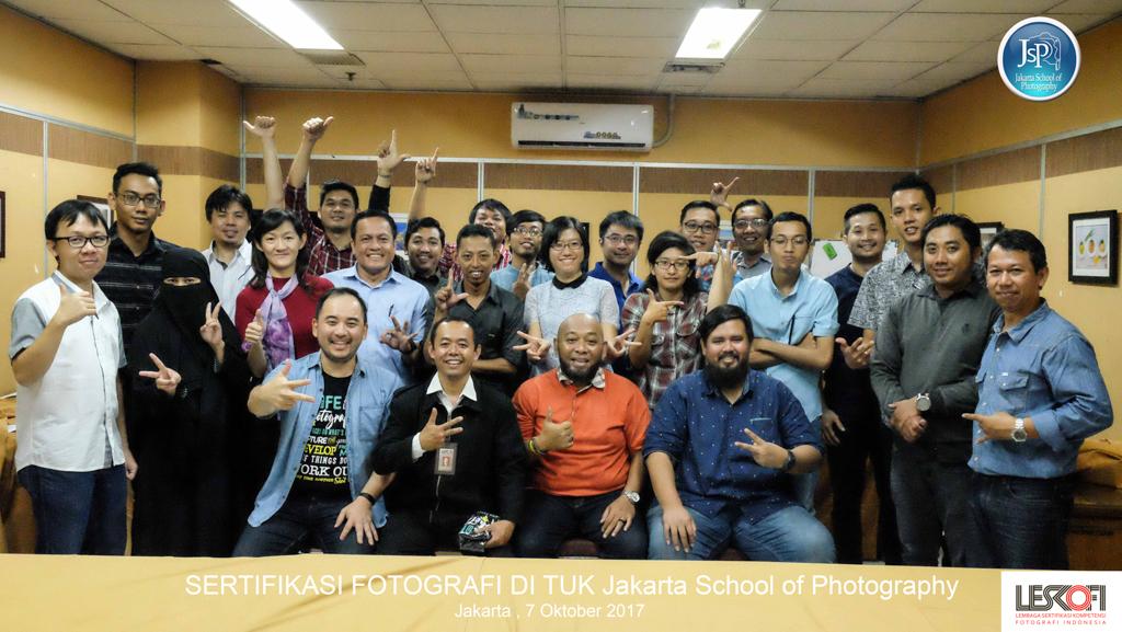 sertifikasi fotografer jakarta di JSP