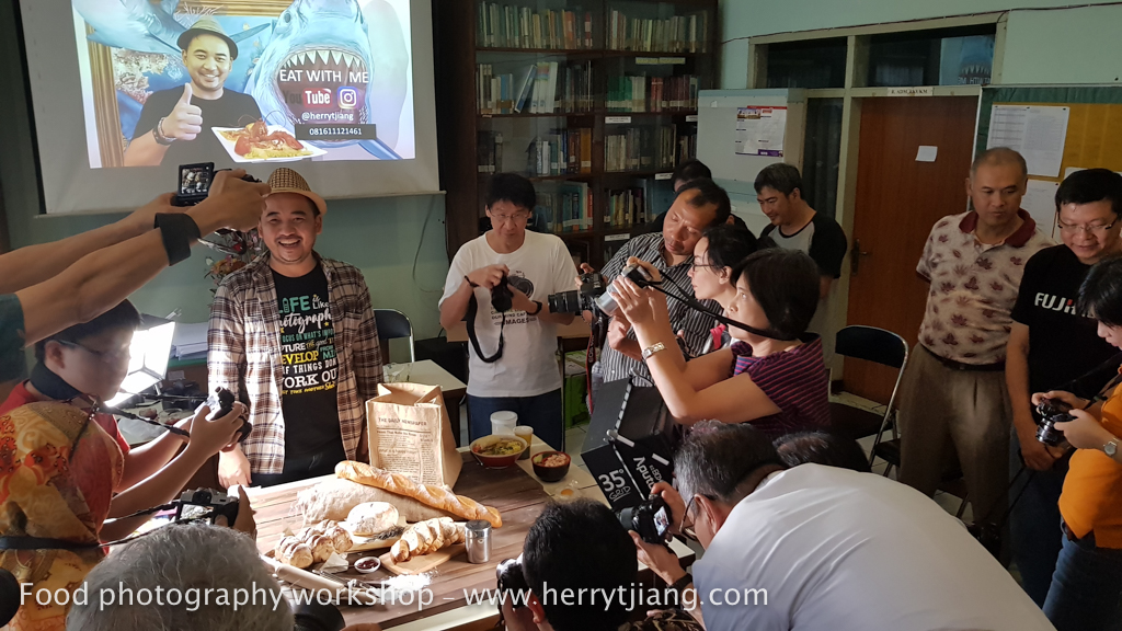 Workshop food photography badung – Herry Tjiang