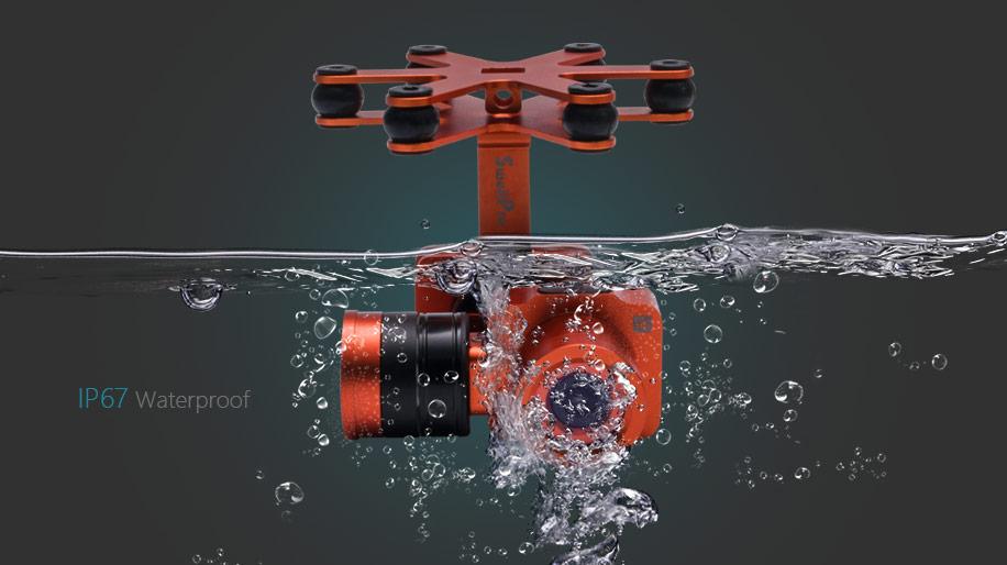 camera splash drone