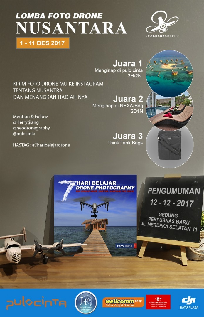 juri lomba foto drone indonesia