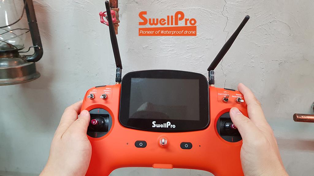 remote swellpro drone