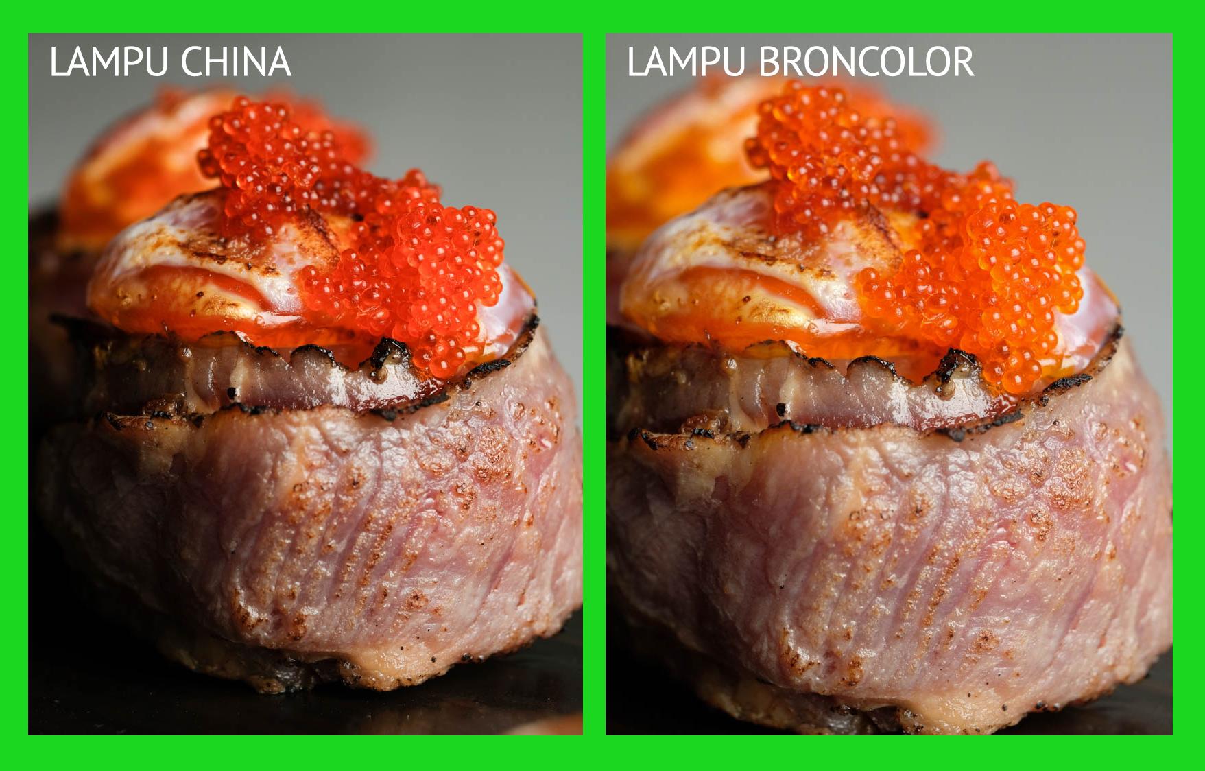 LAMPU CHINA DAN BRONCOLOR