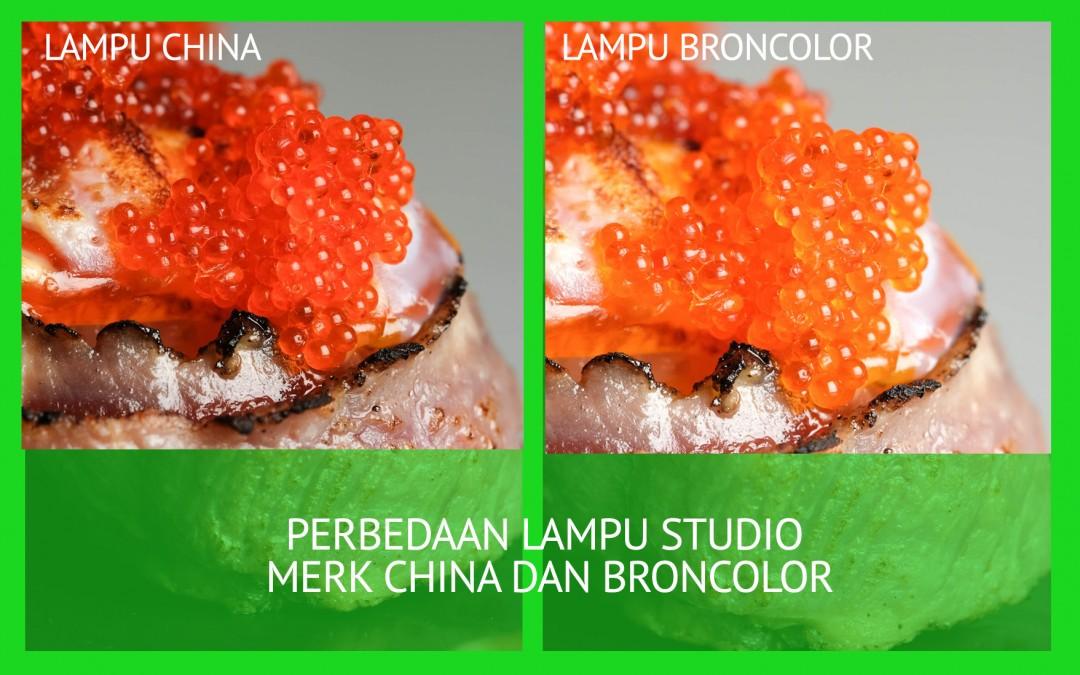 Perbedaan lampu studio China dan lampu swiss atau german