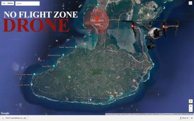 NO FLIGHT ZONE di INDONESIA untuk Drone
