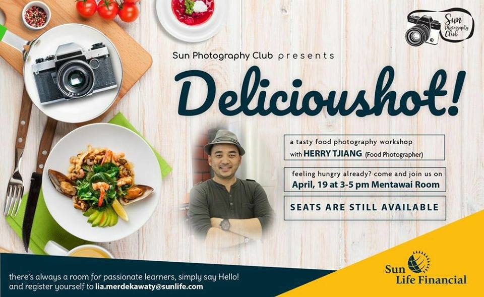 Workshop food photography – Sun life Financial