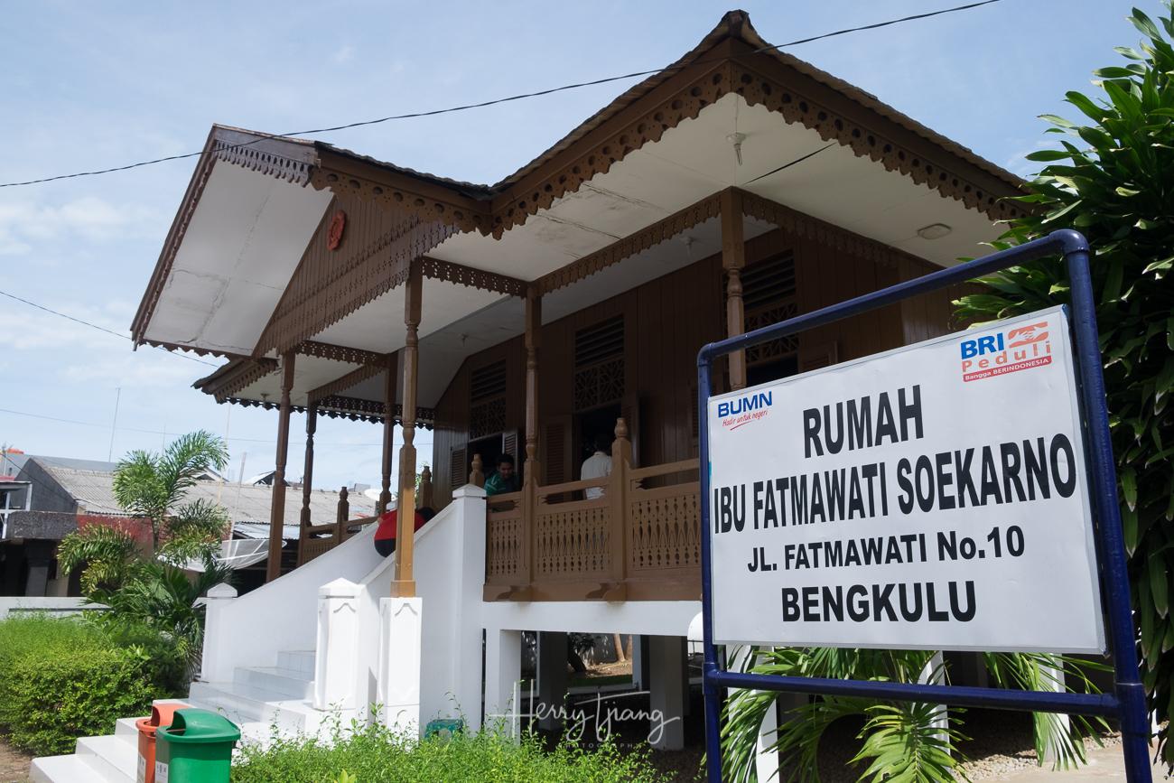 Rumah Fatmawati soekarno