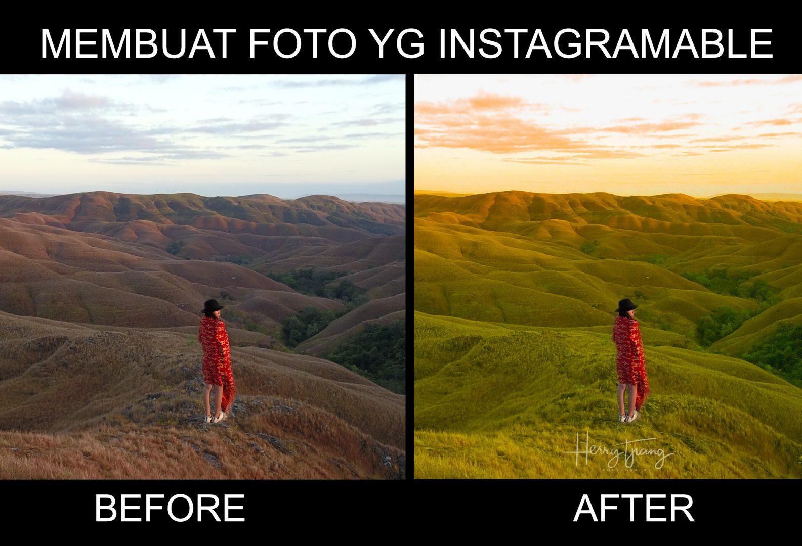 cara membuat foto instagram yang baik