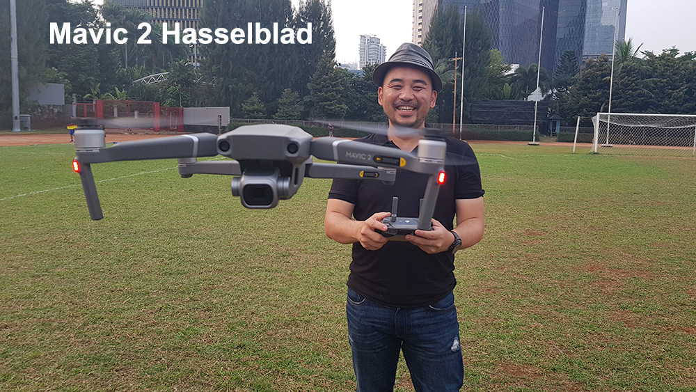 MAVIC 2 HASSELBLAD FIRST FLIGHT