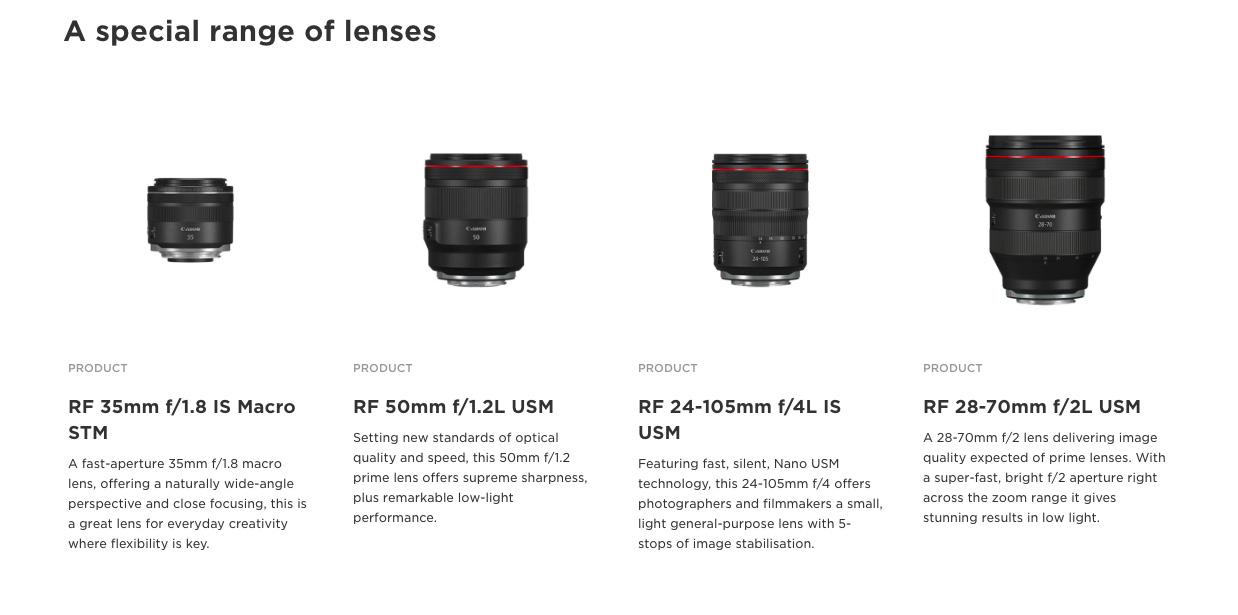 lensa terbaru canon